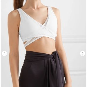 ISO Nike Air Mesh & Dri-fit wrap stretch bra